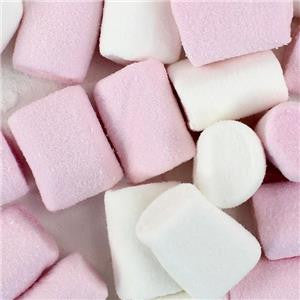 Pink & White Marshmallow 2kg Bulk Bag