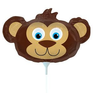 Bear Head Balloon on a Stick - 14