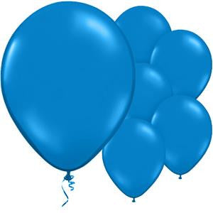 Gentian Blue Balloons - 11'' Latex