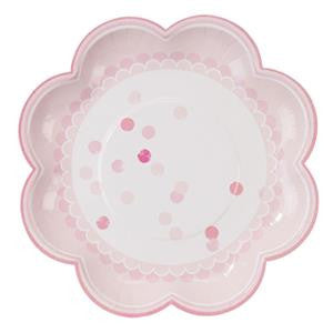 Pink n Mix Plates - 20cm Paper Party Plates