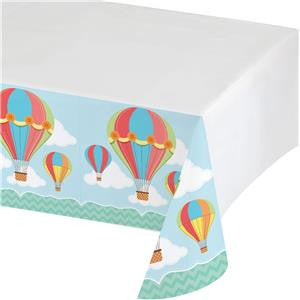 Up, Up and Away Plastic Tablecover - 1.4 x 2.6m