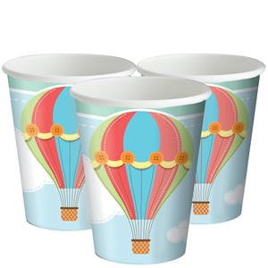 Up, Up and Away Cups - 256ml Paper Party Cups