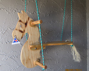 Rope Swing Rocking Horse