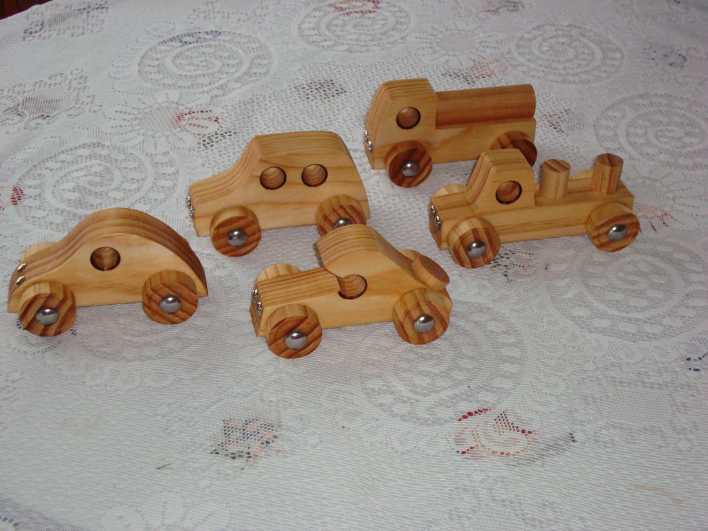 Mini Vehicles (Choose 4)