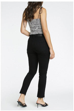 Cara High Rise Vintage Skinny - Onyx - Denim Jeans - Pistola - The TLB Boutique