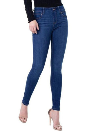 Gia Glider Skinny in Elysian Dark (M/H/S) - Denim Jeans - Liverpool - The TLB Boutique