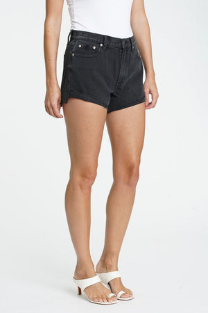 Kylee Relaxed High Rise Cuffed ShortsDenim Shorts