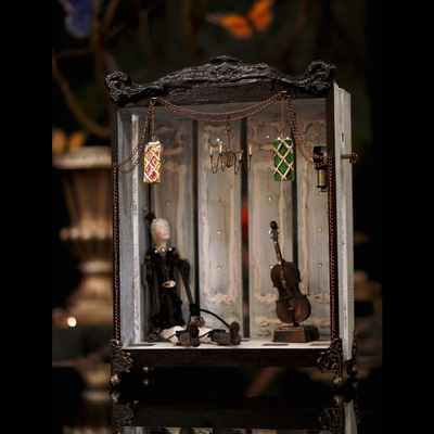 """The PRINCE"" Music Box Diorama By Dr Franky Dolan"