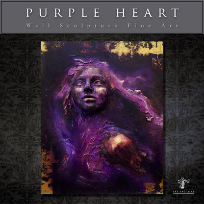 """Purple Heart""  by Dr Franky Dolan"