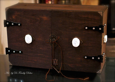 """ALTAR"" Wine Box Cabinet COMMISSION by Dr Franky Dolan"