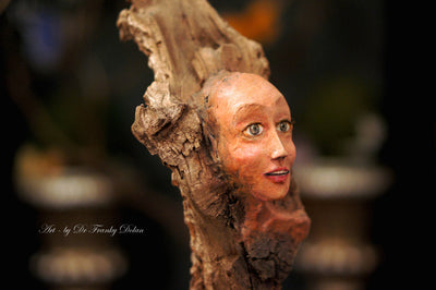 """Tree Nymph Sculpture"" by Dr Franky Dolan"
