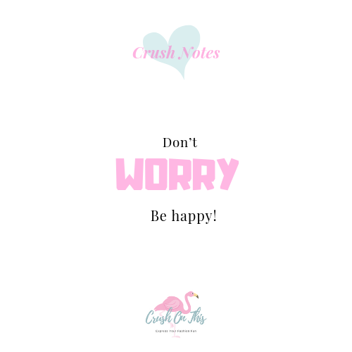 Worry is....
