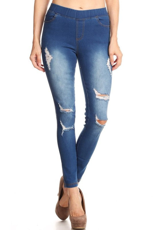 b8312126062aa Best Distressed Jeggings, Light Blue – Crush On This