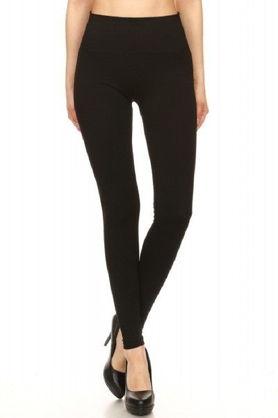 Love Of My Life Slimming Effect, 4 Way Stretch, High Waist Tummy Control Legging, Black
