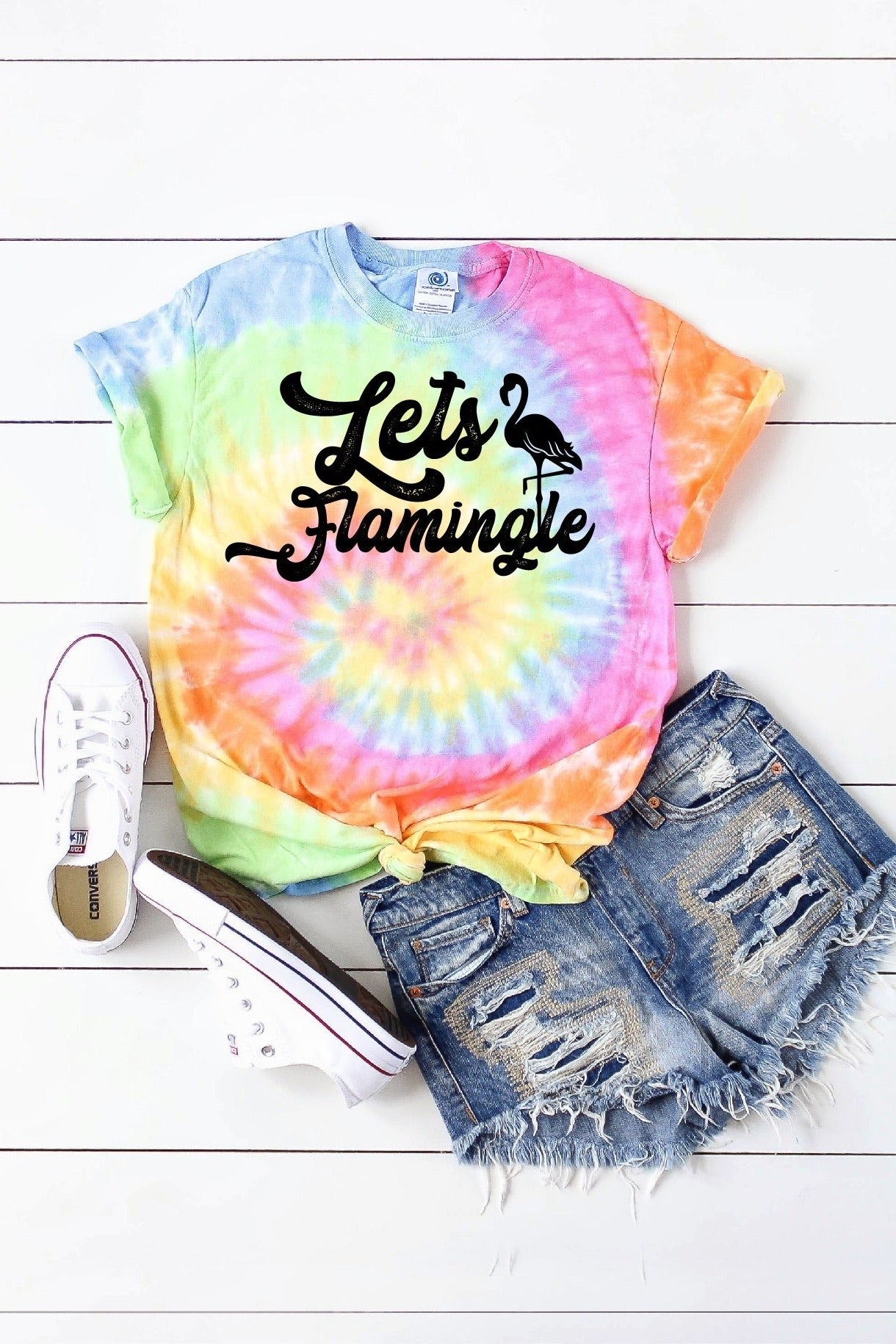 Exclusive Let's Flamingle Tee S-XL