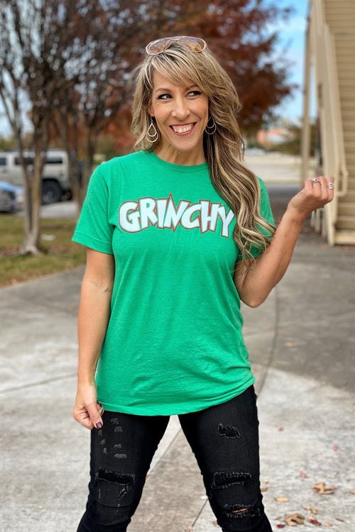 You're a mean one, Mr. Grinch Short Sleeve Super Soft Tulex Tee