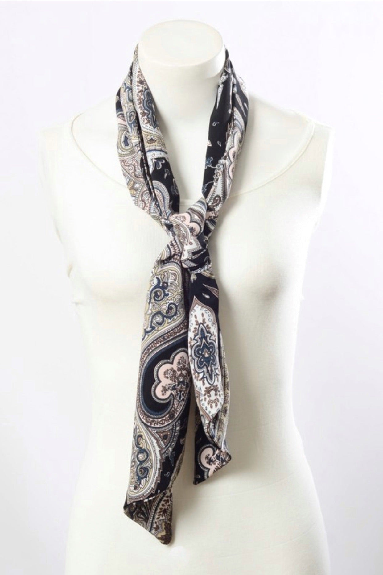 Paisley Multi functional Decorative Scarf