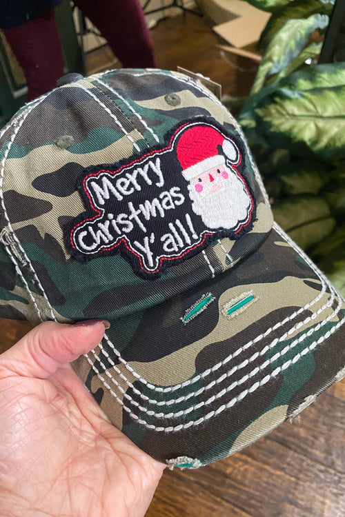 Spread the cheer Camo Trucker Hat