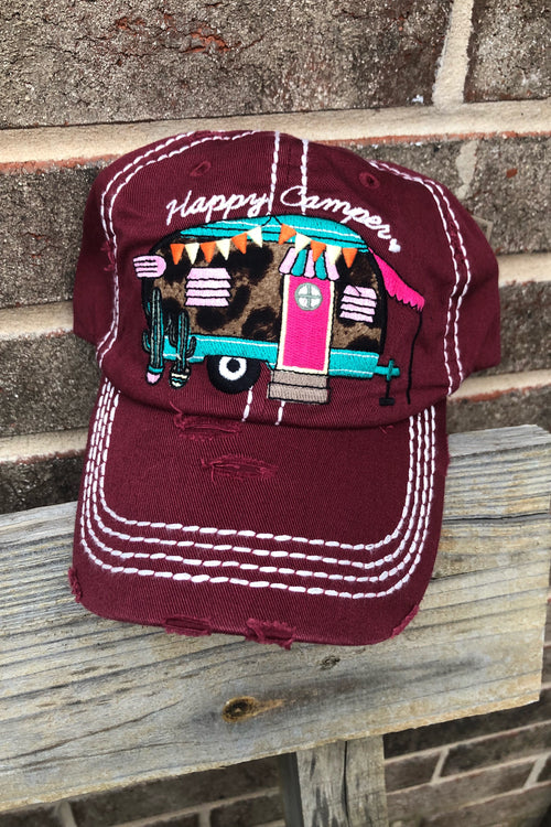 Happy Camper Hat!