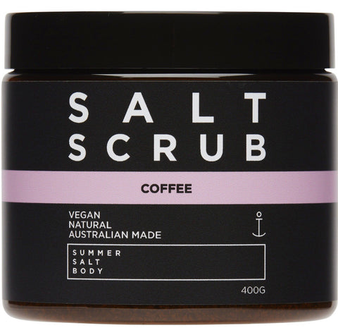 Coffee Salt Scrub - 400g Tub
