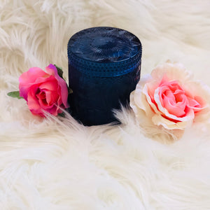 Lotus soy candle- Navy