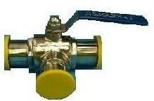 Triclover Three Way Ball Valve