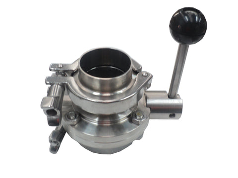 Triclover Butterfly Manual Valve 2