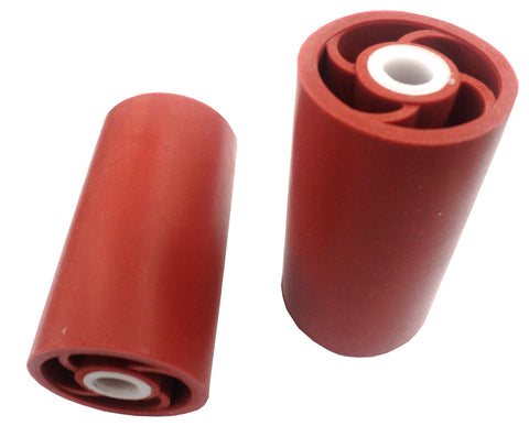 Back Rubber Roller Wheel