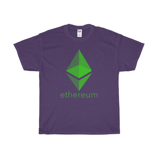 Neon Green Ethereum Text and Prism