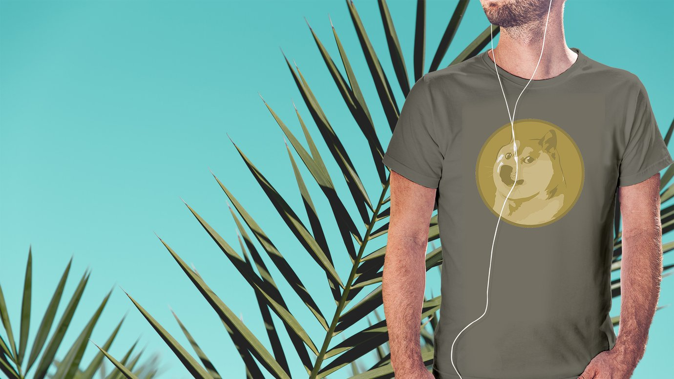 Nice man. Dogecoin shirt. Any questions?