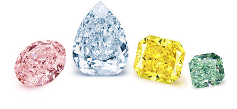 50% OFF Natural Fancy Color Diamonds