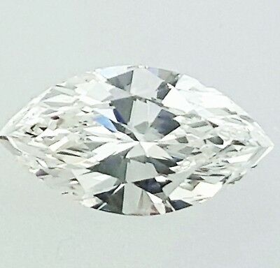 Natural Loose Diamond 0.70 CT G Color VS2 Clarity GIA Certified Marquise Cut