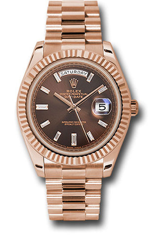 Rolex Oyster Perpetual Day-Date 40 Watch 18K Everose gold