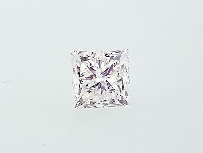 EGL Certified Natural Princess Cut Loose Diamond 1.20 Cts F color SI1 Clarity