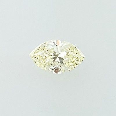 GIA Certified Marquise Cut Natural Loose Diamond 0.70 Cts Fancy Light Yellow VS1