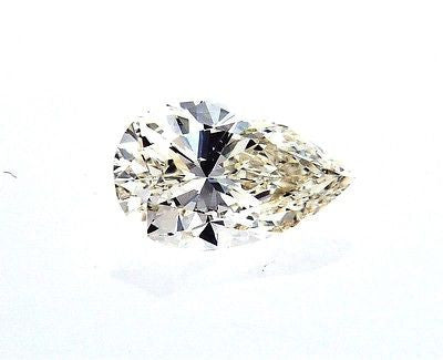 GIA Certified Pear Cut Natural Loose Diamond 3/4 Carat J Color VVS2 Clarity