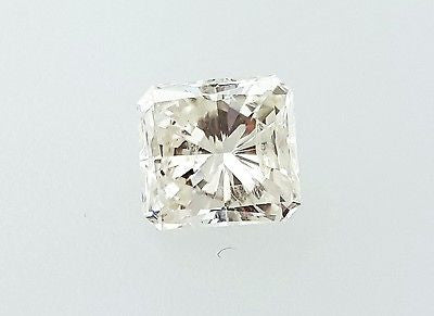 Natural Radiant Cut Loose Diamond 1.57 Carat I Color SI2 clarity $6,000 Retail