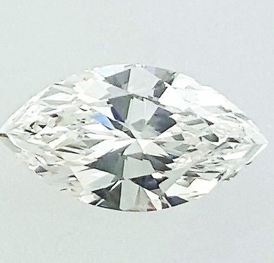 GIA Certified Marquise Cut Natural Loose Diamond 0.70 Cts G Color VS2 Clarity