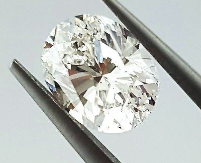 GIA Certified Oval Shape Natural Loose Diamond 0.70 Carats G Color VS1 Clarity