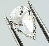 GIA Certified Natural Pear Cut Loose Diamond 0.78 Carats G Color VS1 Clarity