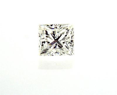 GIA Certified Natural Princess Cut Loose Diamond 1/2 ct H Color SI1 Clarity