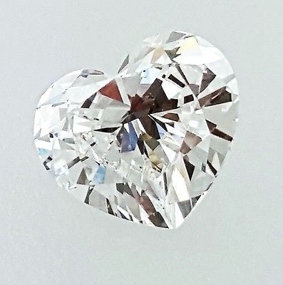 GIA Certified Heart Cut Natural LOOSE DIAMOND 0.75 Carats E Color VS1 Clarity