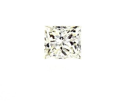 GIA Certified Natural Princess Cut Loose Diamond 1/2 ct J Color SI1 Clarity