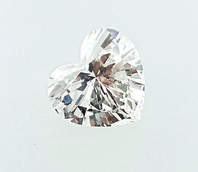 GIA Certified Heart Cut Natural LOOSE DIAMOND 0.70 Carats H Color VS2 Clarity