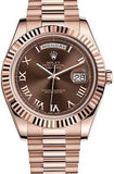 Rolex Watch President Day Date II 18K Rose Gold Gent's 41mm Box and paper $37550