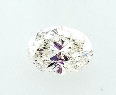 Certified 100% Natural Oval Shape Cut Loose Diamond 1 CT J Color SI2 clarity