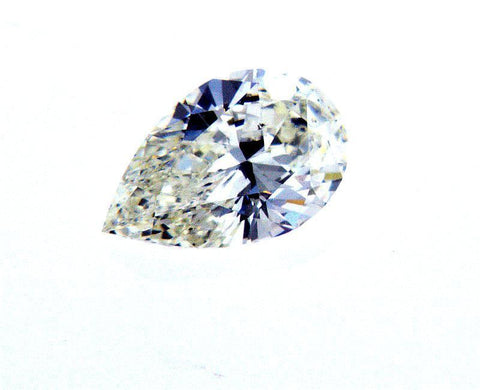 GIA Certified Pear Cut Natural Loose Diamond 0.71 Carats I Color SI1 Clarity