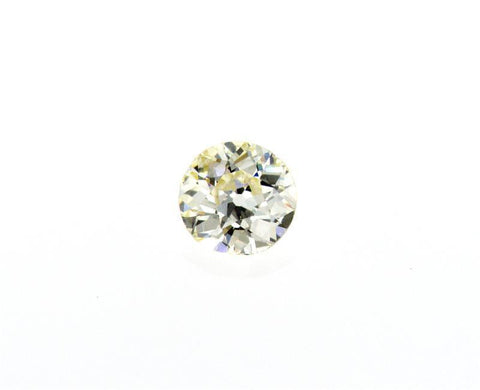 Round Old Miner Cut Natural Loose Diamond 1/2 CT O-P Color VS1 Clarity