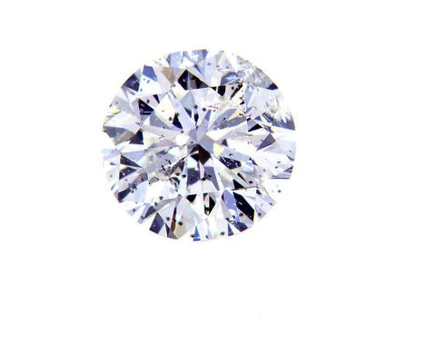 100% Natural Loose Diamond Round Cut 1.01 Carats G Color SI3 Clarity