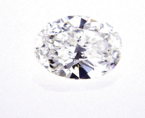 GIA Certified Natural Oval Cut Loose Diamond 0.73 Carats G Color SI1 Clarity